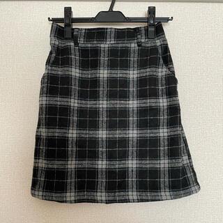 ページボーイ(PAGEBOY)のPAGEBOY チェックタイトスカート(ひざ丈スカート)