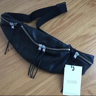 fill the bill leather waist bag (ウエストポーチ)