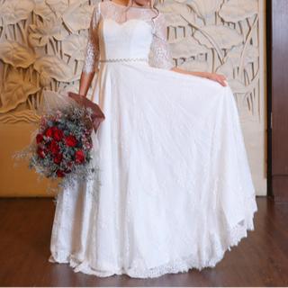韓国で購入 ウェディング ドレス (ウェディングドレス)