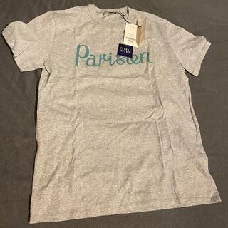 メゾンキツネ(MAISON KITSUNE')のMAISON KITSUNE Tシャツ グレー Sサイズ(Tシャツ(半袖/袖なし))