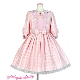 Angelic Pretty - AngelicPrettyトッピングシュガー ワンピース ピンク