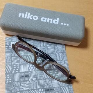 ニコアンド(niko and...)のniko and…  だてメガネ(サングラス/メガネ)