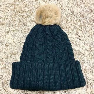 ハニーズ(HONEYS)のケーブル編みニット帽(ニット帽/ビーニー)