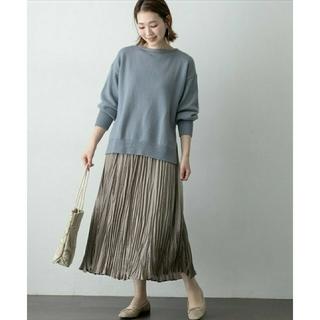URBAN RESEARCH ROSSO - アーバンリサーチロッソ☆エアリーニット×プリーツスカートセット 新品スカートのみ