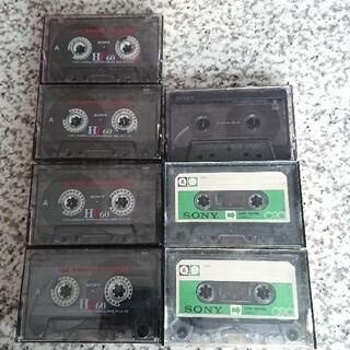 マクセル(maxell)のカセットテープ ソニー 7本(その他)