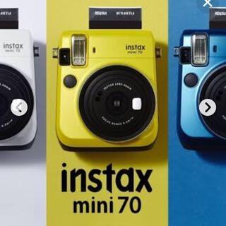 富士フイルム - FUJIFILM インスタントカメラ チェキ instax mini70イエロー