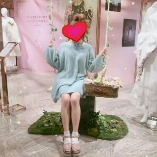 ロザリームーン(Rosary moon)のRosary moon♡ニットワンピース(ひざ丈ワンピース)