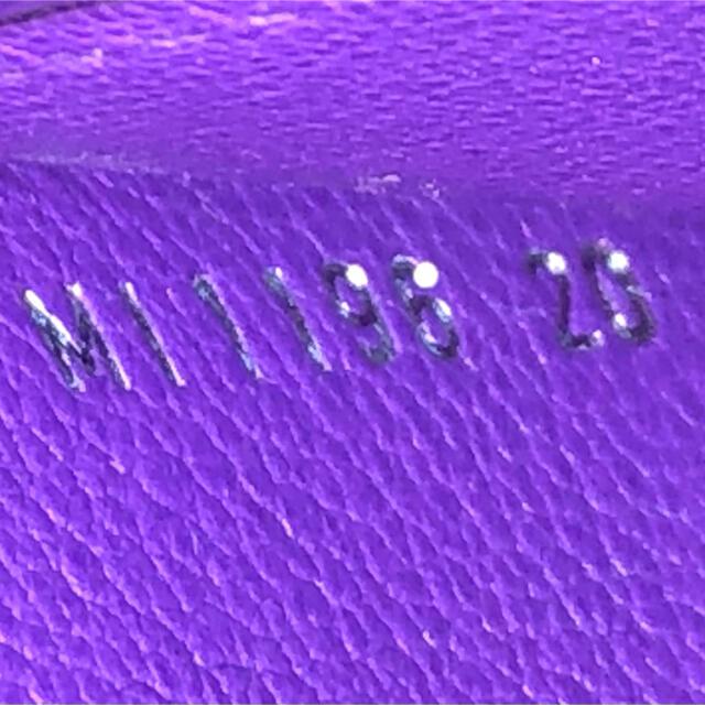 LOUIS VUITTON(ルイヴィトン)の未使用品☆正規品 ルイヴィトン アリゲーター 鰐 長財布 カプシーヌ 紫 レディースのファッション小物(財布)の商品写真