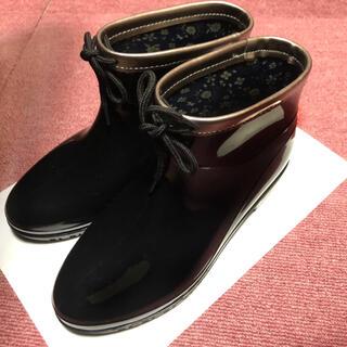 靴 レインブーツ シューズ ブーツ レースアップ(レインブーツ/長靴)