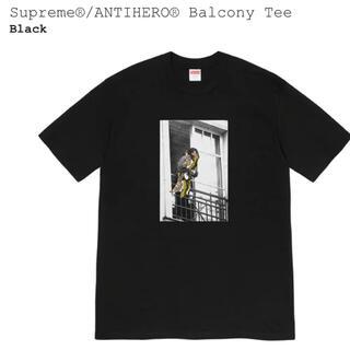 シュプリーム(Supreme)のSupreme シュプリーム ANTIHERO バルコニーTee 黒L(Tシャツ/カットソー(半袖/袖なし))
