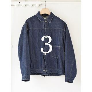 COMOLI - サイズ3 comoli コモリ 21ss デニムジャケット インディゴ