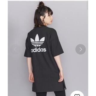 adidas - adidas バックプリントワンピース XS