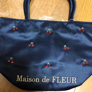 メゾンドフルール(Maison de FLEUR)のメゾンドフルール チェリー柄トート(トートバッグ)