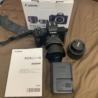 Canon - Canon EOS Kiss M ブラック ダブルレンズキット