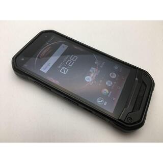 キョウセラ(京セラ)のSIMフリー良品au京セラ TORQUE G03 KYV41 ブラック 377(スマートフォン本体)