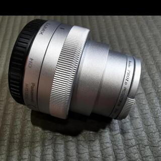 パナソニック(Panasonic)のLUMIX G VARIO12-32mm F3.5-5.6 シルバー(レンズ(ズーム))