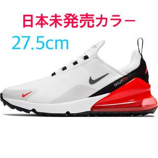ナイキ(NIKE)のラス1☆日本未発売 27.5cm NIKE AIR MAX 270G 白赤(シューズ)