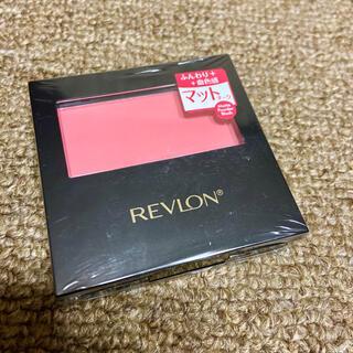 REVLON - レブロン マットパウダーブラッシュ ピンクスフレ 114 新品未使用