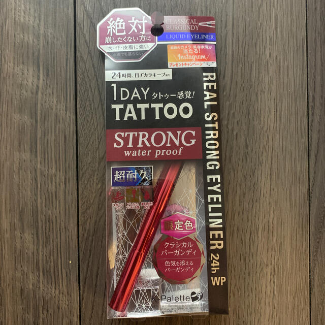 K-Palette(ケーパレット)の1day tattoo アイライナー コスメ/美容のベースメイク/化粧品(アイライナー)の商品写真