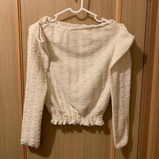 原宿(me)購入品 肩出しトップス(Tシャツ(長袖/七分))