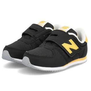 New Balance - ニューバランス  16センチ イエロー ブラック