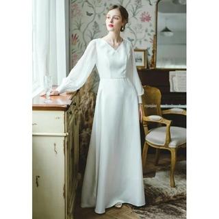 セ―ル!!ウェディングドレス前撮りカジュアル結婚式二次会花嫁(ウェディングドレス)
