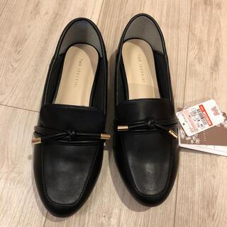 シマムラ(しまむら)の♡てらさんローファーブラックM♡(ローファー/革靴)