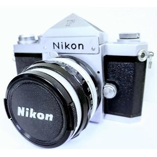 ニコン(Nikon)のNikon ニコン フィルムカメラ ボディ F アイレベル 一眼レフ シルバー (フィルムカメラ)