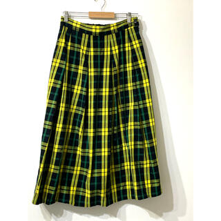 フェリシモ(FELISSIMO)の☆フェリシモ☆サニークラウズ タータンチェックスカート LL (ロングスカート)