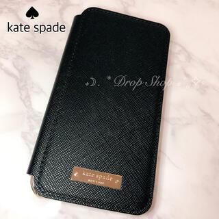 ケイトスペードニューヨーク(kate spade new york)の𓊆 kate  spade ♠︎ iphoneXブック型ケース 𓊇 (iPhoneケース)