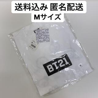 ボウダンショウネンダン(防弾少年団(BTS))の【Mサイズ】 UT BT21  グラフィックTシャツ(Tシャツ/カットソー(半袖/袖なし))