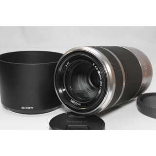 ソニー(SONY)の❤️望遠レンズ❤️SONY E 55-210mm OSS レンズ シルバー(レンズ(ズーム))