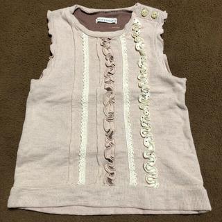 クーラクール(coeur a coeur)のベスト 綿100% キムラタン(Tシャツ/カットソー)