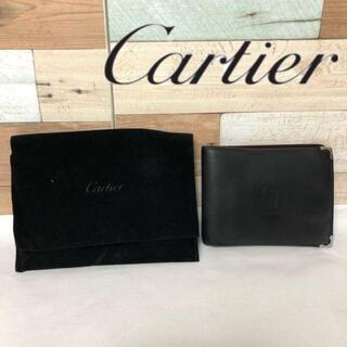 カルティエ(Cartier)の【オススメ❗️】Cartierカルティエ 二つ折り財布 新品価格¥56,540(折り財布)
