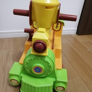 激レア☆くまのプーさん電動シュッポ♪(電車のおもちゃ/車)