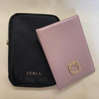 Furla - sweet付録 FURLA ミラー&ミラーケース