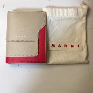 マルニ(Marni)の使用10回ほど 美品 MARNI レザーウォレット 財布(財布)