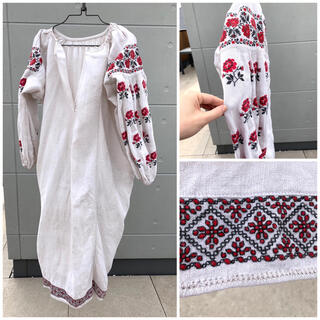 L'Appartement DEUXIEME CLASSE - JANTIQUES購入◯ 超希少♡ウクライナ刺繍ワンピース ウクライナドレス