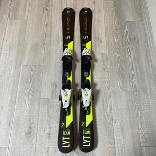 ヘッド(HEAD)のスキー板 キッズ107センチ(板)
