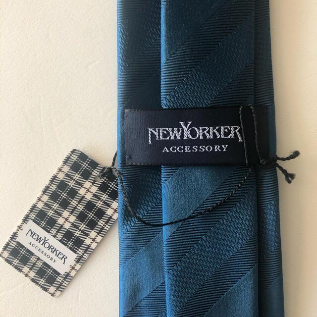 NEWYORKER(ニューヨーカー)の【新品】ニューヨーカーNEWYORKER ネクタイ※袋付き メンズのファッション小物(ネクタイ)の商品写真