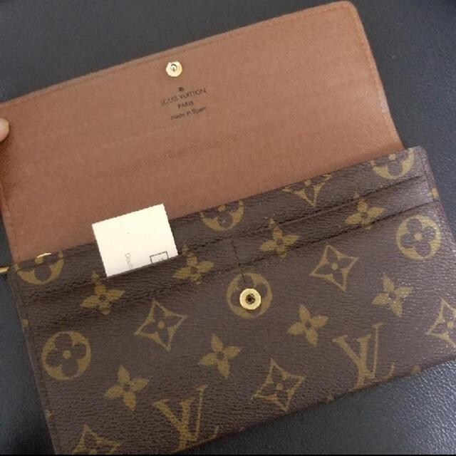 LOUIS VUITTON(ルイヴィトン)のLOUIS VUITTON長財布 レディースのファッション小物(財布)の商品写真