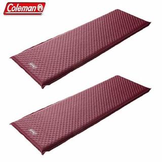 コールマン(Coleman)のコールマン coleman キャンパーインフレーターマット WセットII (寝袋/寝具)