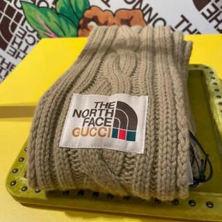 グッチ(Gucci)のGUCCI THE NORTH FACE グッチコラボマフラー(マフラー)