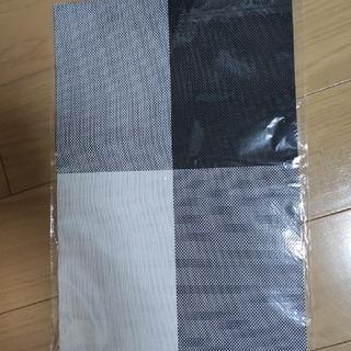 ランチョンマット 灰 5枚セット 新品(テーブル用品)