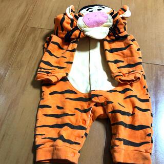 ディズニー(Disney)のティガーベビー服(ロンパース)