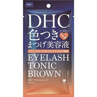 DHC アイラッシュトニックブラウン 色つきまつ毛美容液・マスカラ・まつげ用品(まつ毛美容液)