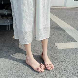 レインシューズ  かわいい レインブーツ ラウンドトゥ ゴム靴 歩きやすい(レインブーツ/長靴)