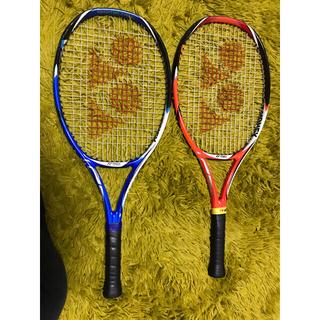 バボラ(Babolat)の硬式テニスラケット 4本セット バボラ ピュアコン ヨネックス  Vコア25(ラケット)