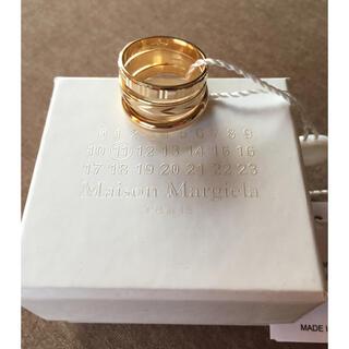 Maison Martin Margiela - M新品 メゾン マルジェラ メンズ 3連 リング レイヤード シルバー製 指輪