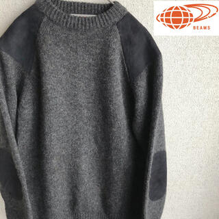 BEAMS - BEAMS ウール コンバット ニット セーター ビームス Lサイズ